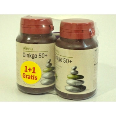GINKGO BILOBA 40MG 50+ 30CPR+30CPR