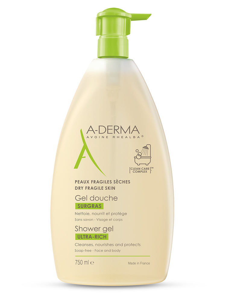 A-Derma Gel de dus Ultra-rich 750ml