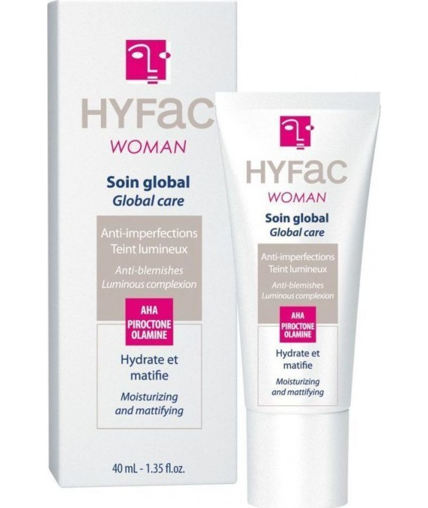 Hyfac Woman Global care Crema anti-imperfectiuni piele mixta 40ml